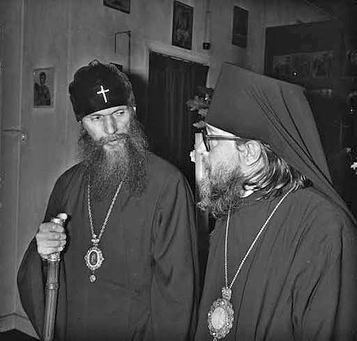 with Metropolitan Philaret (Voznesensky)