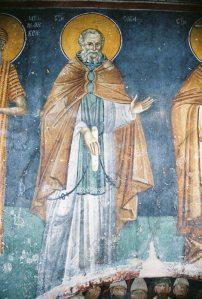 Sf. Cuvios Sava cel Sfințit