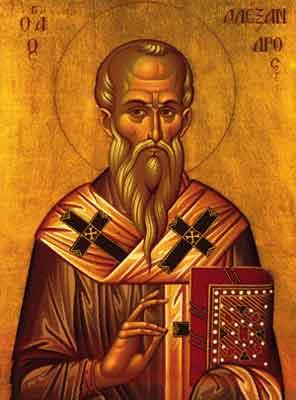 Sf. Ierarh Alexandru al Constantinopolului