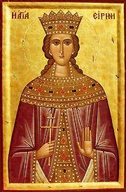 Sfânta Mare Muceniță Irina din Maghedon