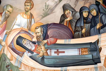 File:St Nectarios- Kimisi-close-up.jpg