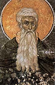 Cuviosul Arsenie cel MareFrescă de la Protaton, Muntele Athos