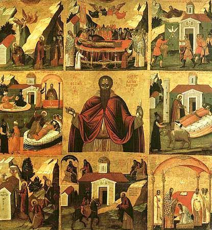 Teodosie cel Mare, începătorul vieții de obște - OrthodoxWiki