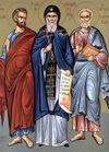 Apóstolos dos Setenta Olímpio, Herodião, Sosípatro, Tércio, Erasto e Quarto