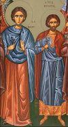 Mártires Marciano e Martyrius o Notário de Constantinopla