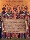 The Holy Fathers of the First Ecumenical Council