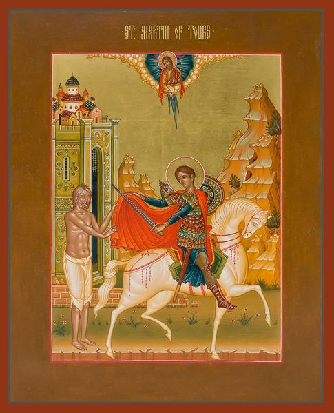 File:Saint Martin of Tours and the episode of the cloak.jpg