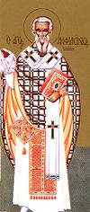 Santo Anfilóquio, bispo de Icônio