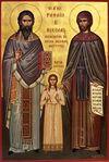 New martyrs Raphael, Nicholas and Irene
