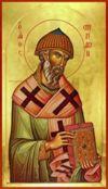 Santo Espiridião,o Taumaturgo do Chipre.