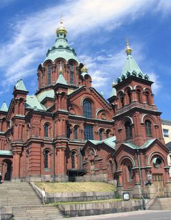 Uspenski Cathedral Helsinki Orthodoxwiki