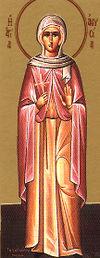Virgem-mártir Anísia de Salônica