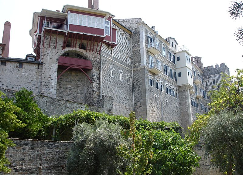 monastère mont athos