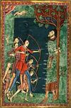 The martyrdom of St Edmund