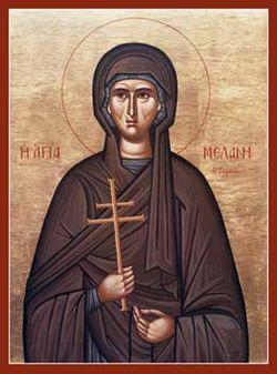 Sf. Cuv. Melania Romana