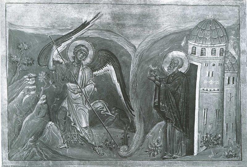 File:Miracle at Chonae (Menologion of Basil II).jpg