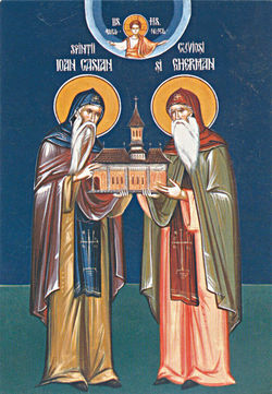 St John Cassian and St Germanus of Dobrogea