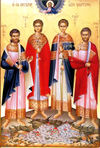 The Holy Four Martyrs of Megara