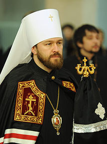 The Most Reverend Metropolitan Hilarion (Alfeyev) of Volokolamsk.